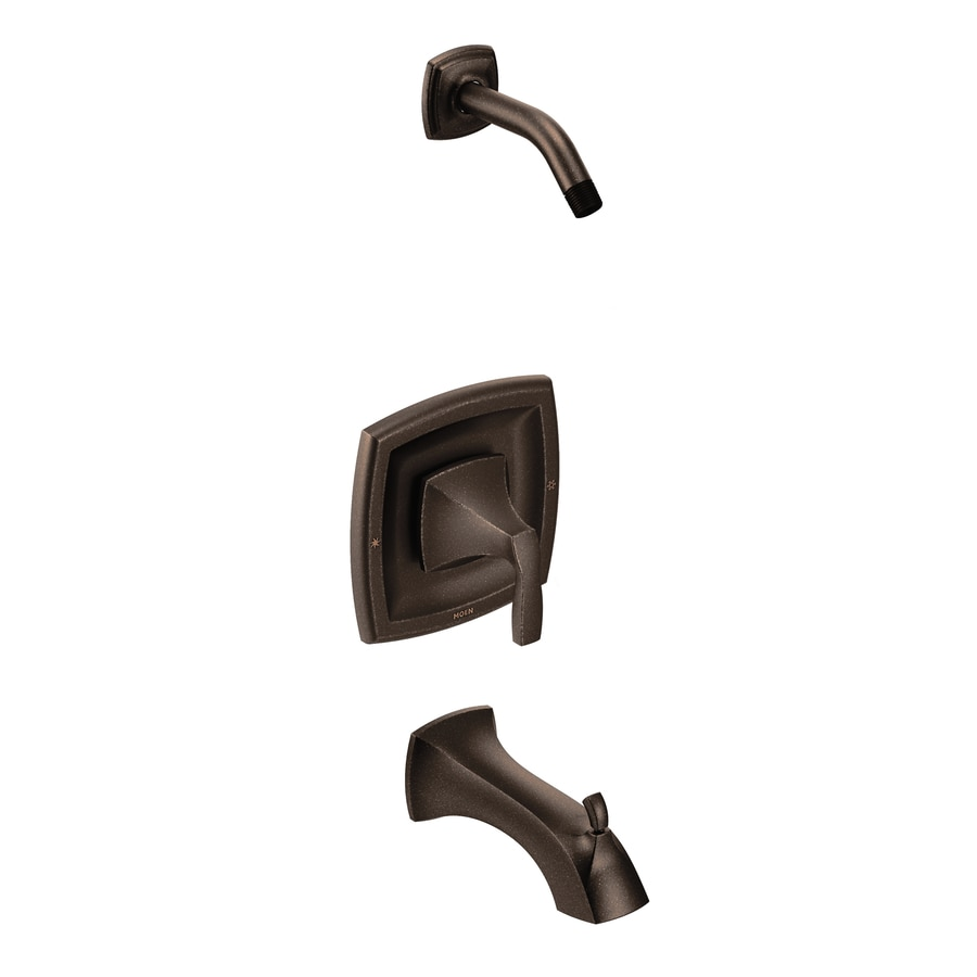 Moen Voss Oil-Rubbed Bronze 1-Handle Bathtub and Shower Faucet