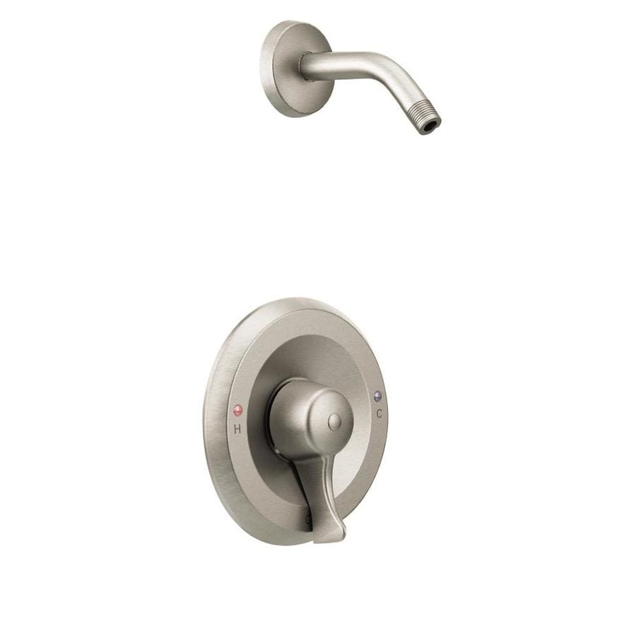 Moen Commercial Classic Brushed Nickel 1-Handle Commercial Faucet