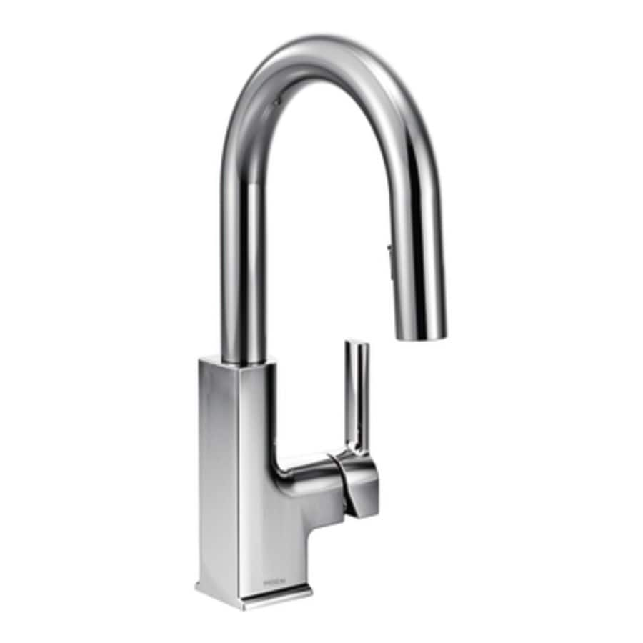 Moen STO Chrome 1-Handle Bar and Prep Faucet