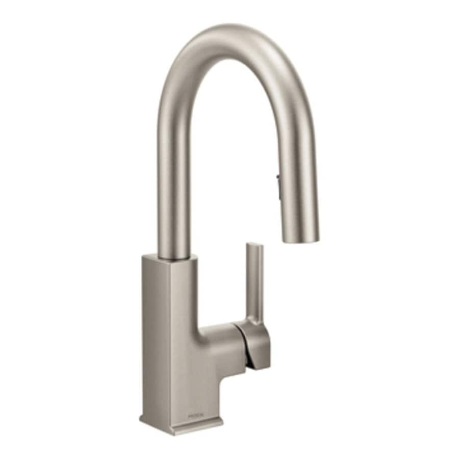 Moen STO Spot Resist Stainless 1-Handle Bar and Prep Faucet