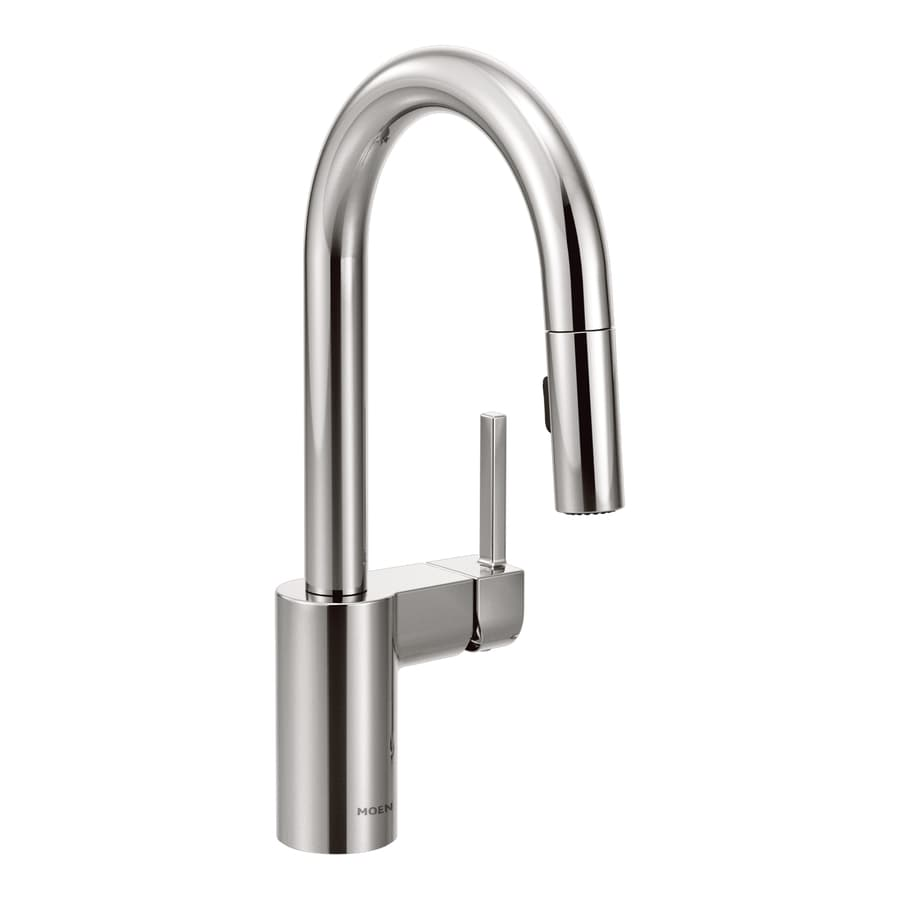 Moen Align Chrome 1-Handle Bar and Prep Faucet