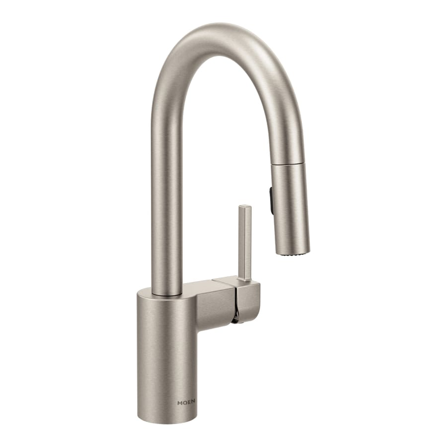 Moen Align Spot Resist Stainless 1-Handle Bar and Prep Faucet