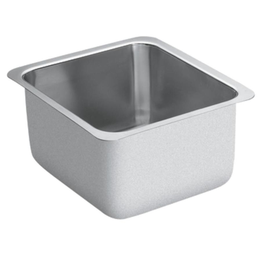 ... Series Stainless Steel Undermount Residential Prep Sink at Lowes.com