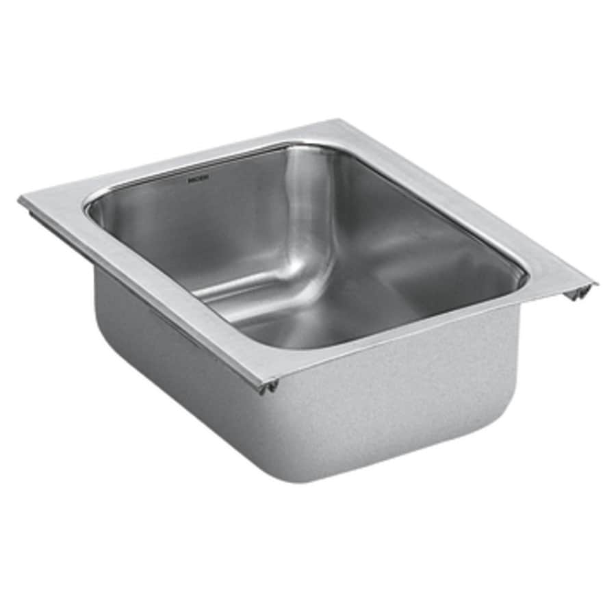 Moen 1800 Series Stainless Steel Undermount Residential Prep Sink
