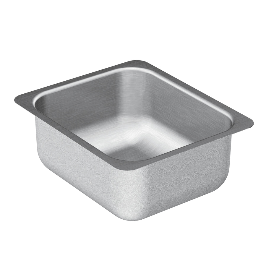Moen 2000 Series Stainless Steel Undermount Residential Prep Sink