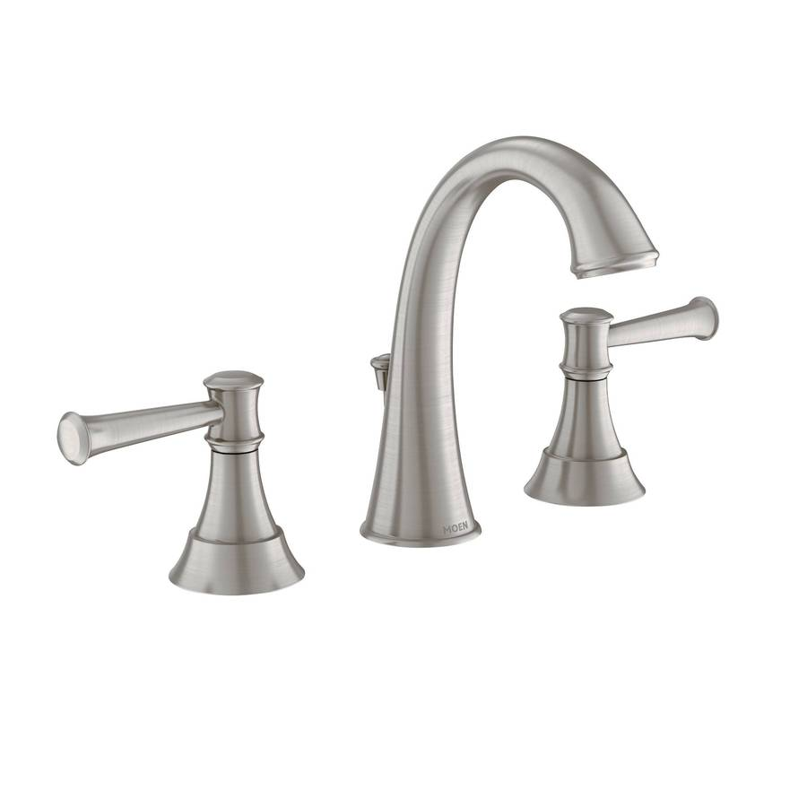 Shop Moen Ashville Spot Resist Brushed Nickel Microban 2