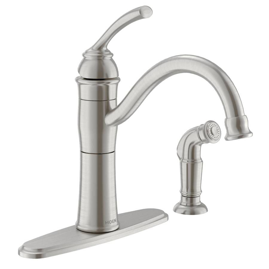 Moen Single Handle Kitchen Faucet Lowes