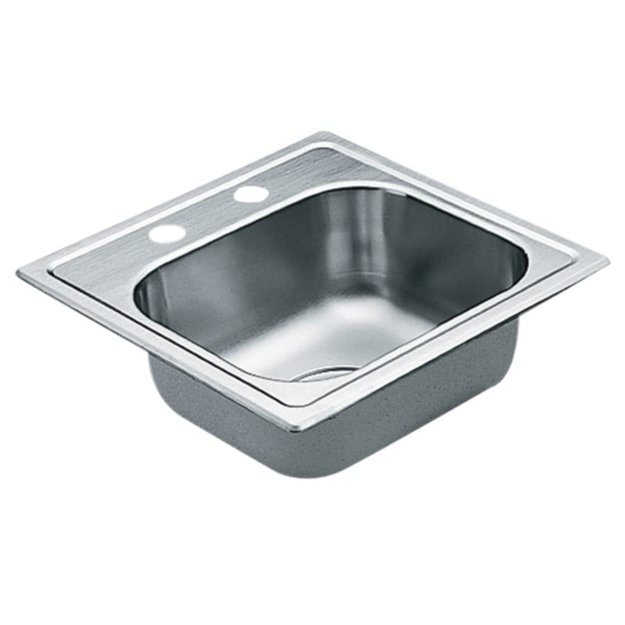 Moen 2200 Series Stainless Steel Drop-in Residential Prep Sink