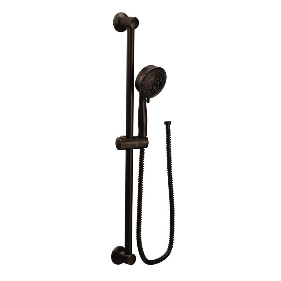 shop moen temp oil rubbed bronze 4 spray shower head at. Black Bedroom Furniture Sets. Home Design Ideas
