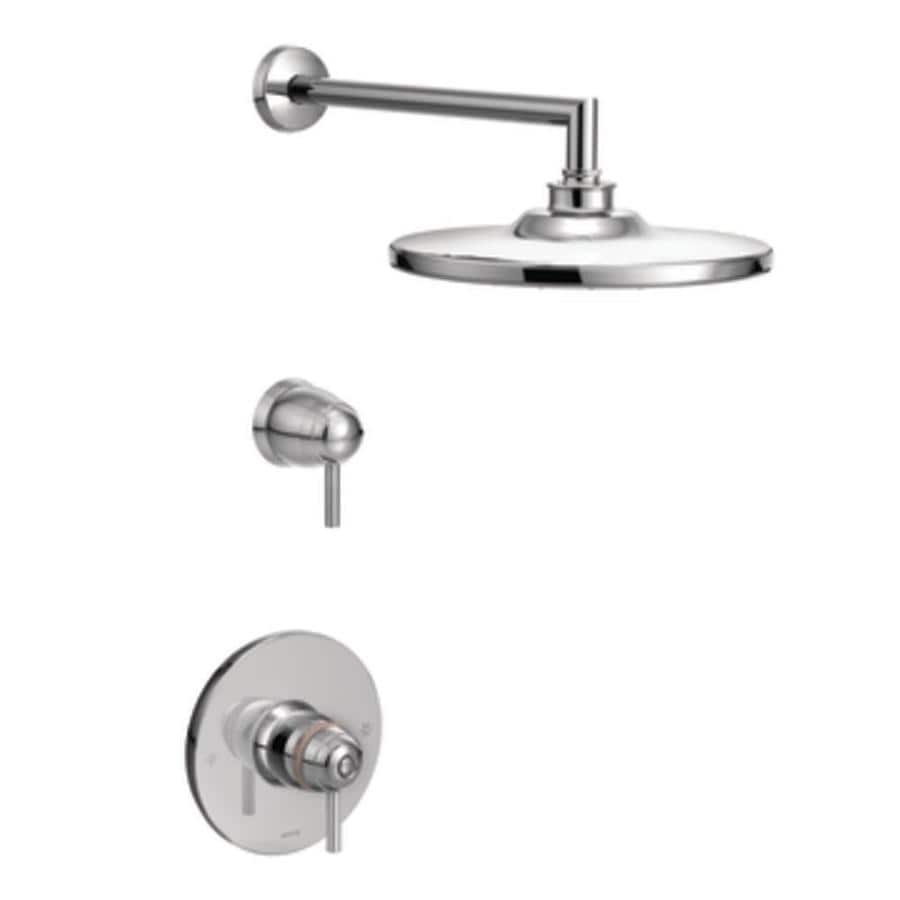 Moen Arris Chrome 1-Handle Shower Faucet Trim Kit with Rain Showerhead