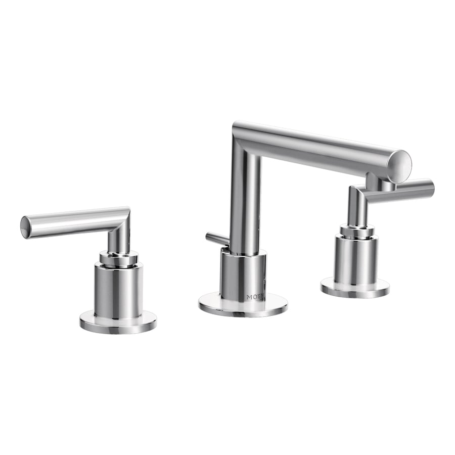 Moen Arris Chrome 2-Handle Widespread WaterSense Bathroom Faucet