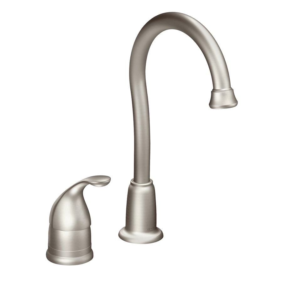 Moen Camerist Spot Resist Stainless 1-Handle Bar and Prep Faucet