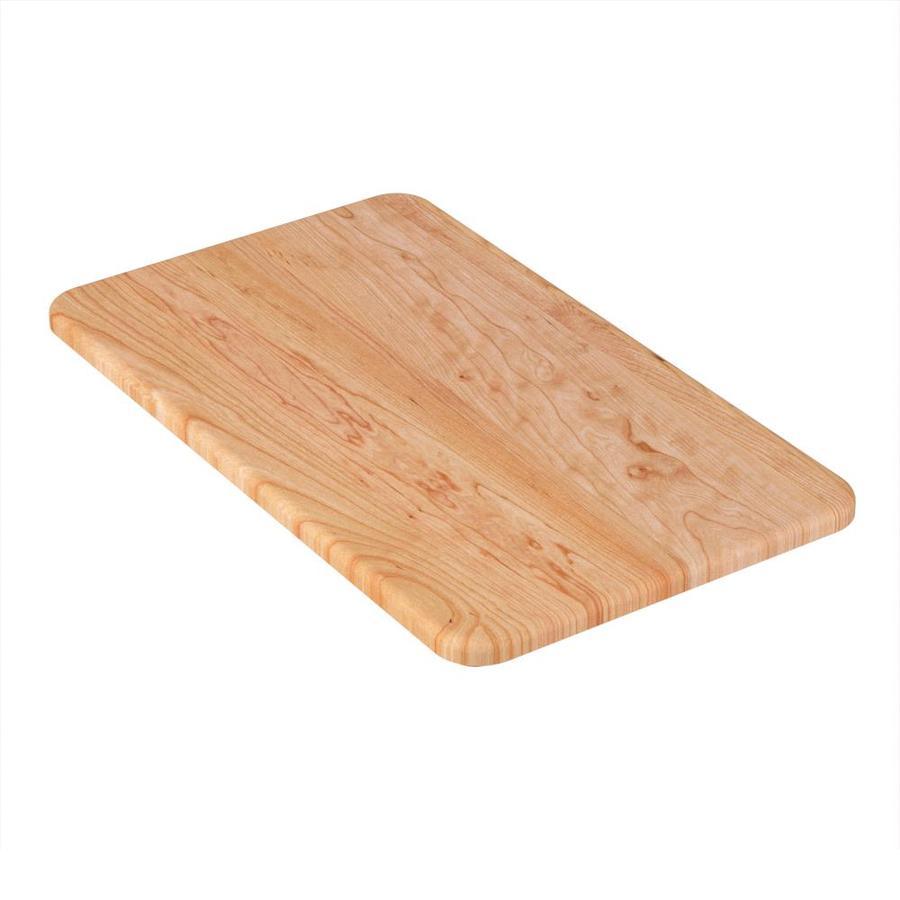 Moen 1 16-in L x 14-in W Wood Cutting Board