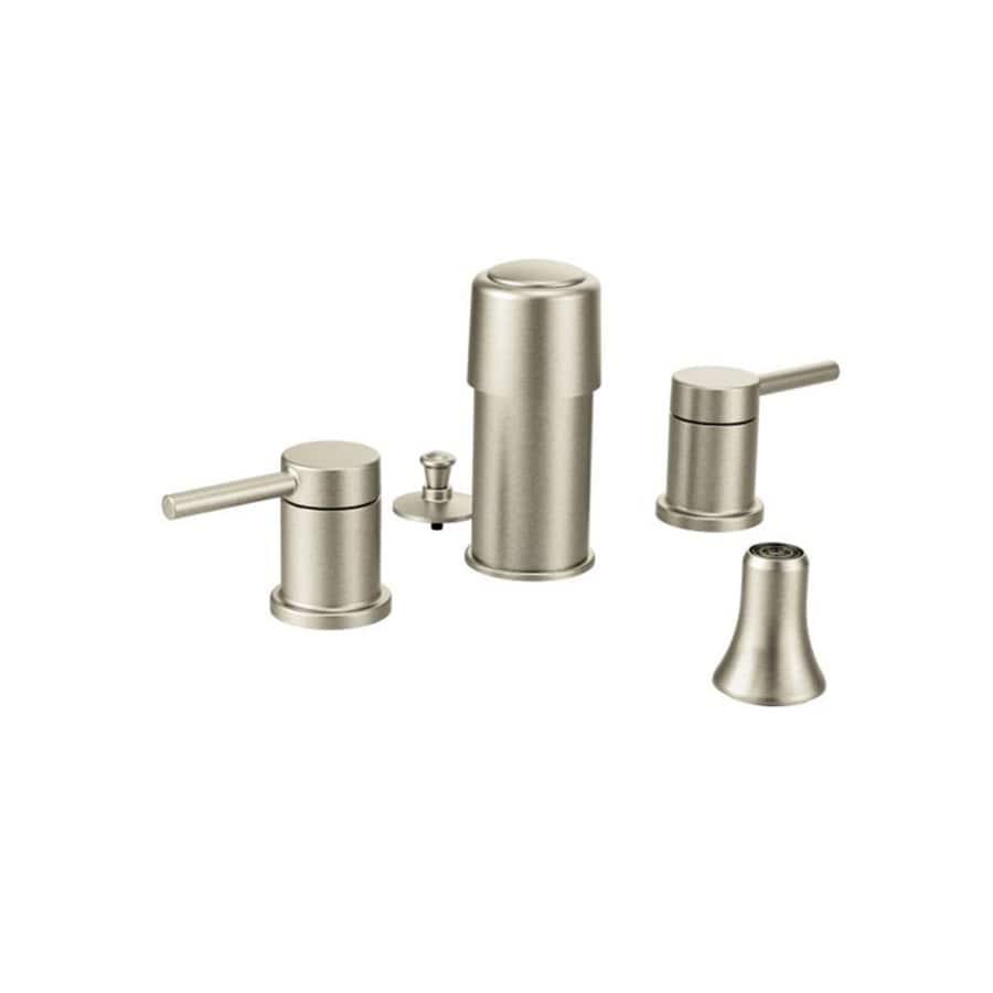 Moen Align Brushed Nickel Vertical Spray Bidet Faucet Trim