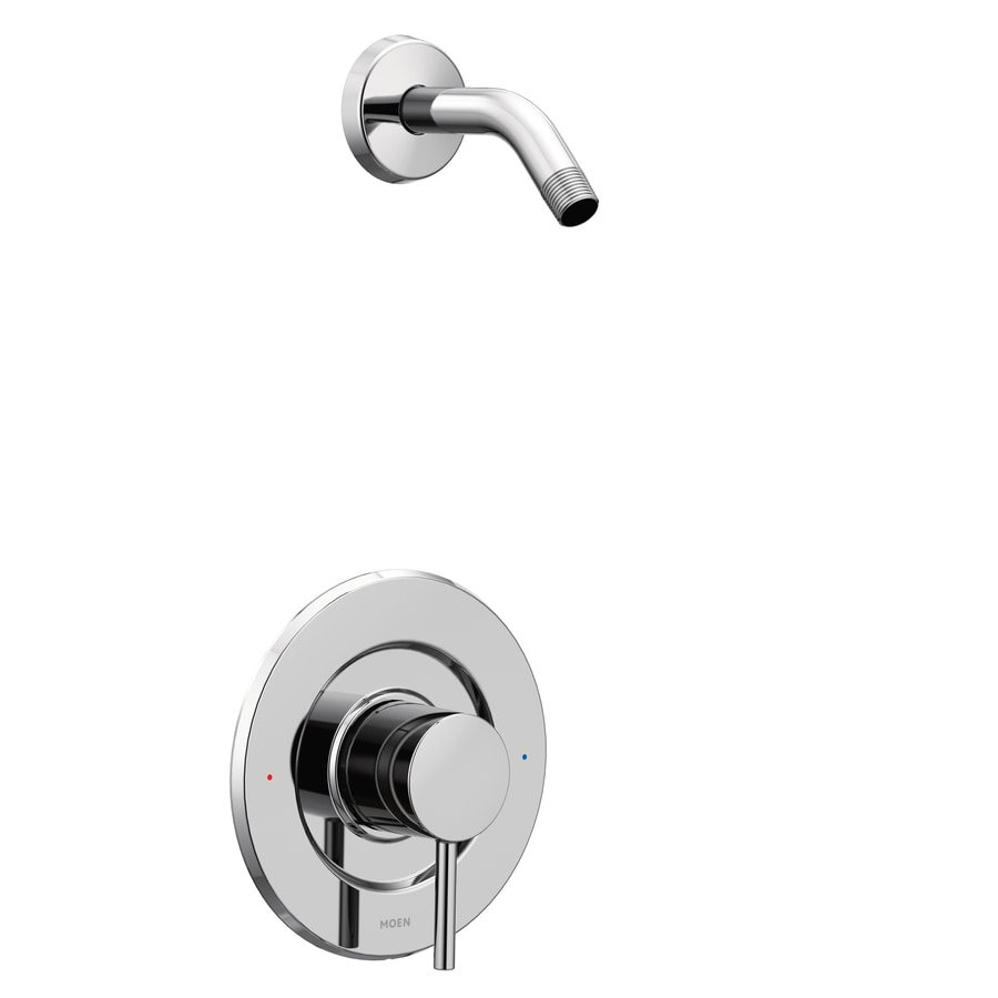 Moen Align Chrome 1-Handle Handle(S) Included Shower Faucet with Sold Separately Showerhead
