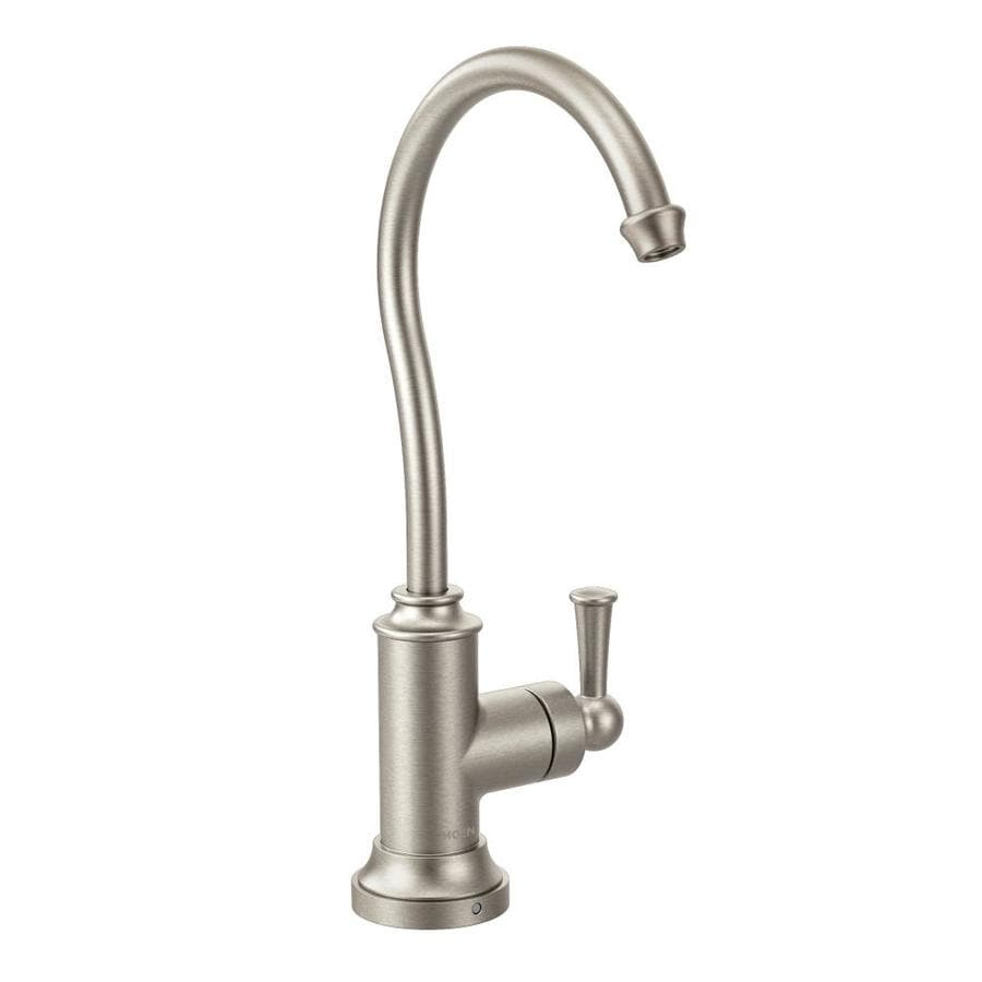 Moen Sip Spot Resist Stainless 1-Handle Bar and Prep Faucet
