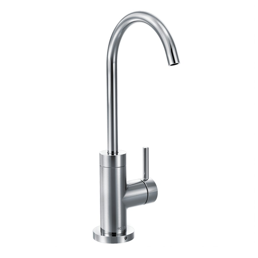 Shop Moen Sip Modern Chrome 1-Handle Bar and Prep Faucet at Lowes.com