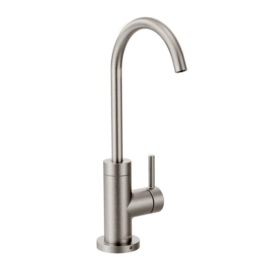 Moen Sip Modern Spot Resist Stainless 1-Handle Handle(S) Included Bar and Prep Faucet