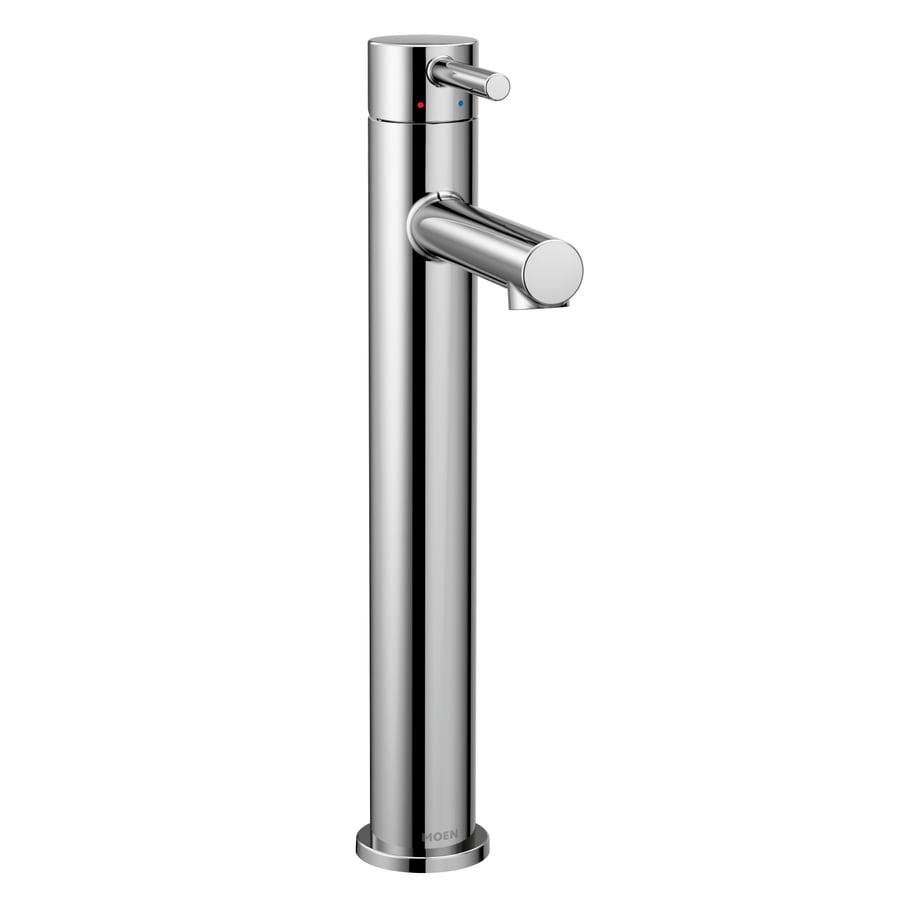 Moen Align Chrome 1-Handle Single Hole/4-in Centerset WaterSense Bathroom Faucet
