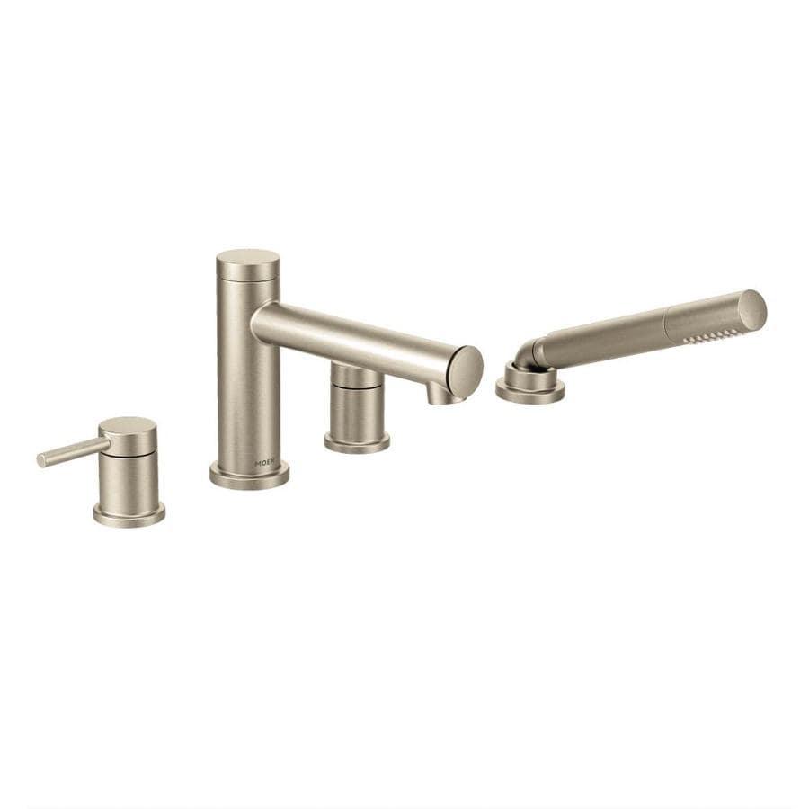 Moen Align Brushed Nickel 2-Handle Bathtub and Shower Faucet