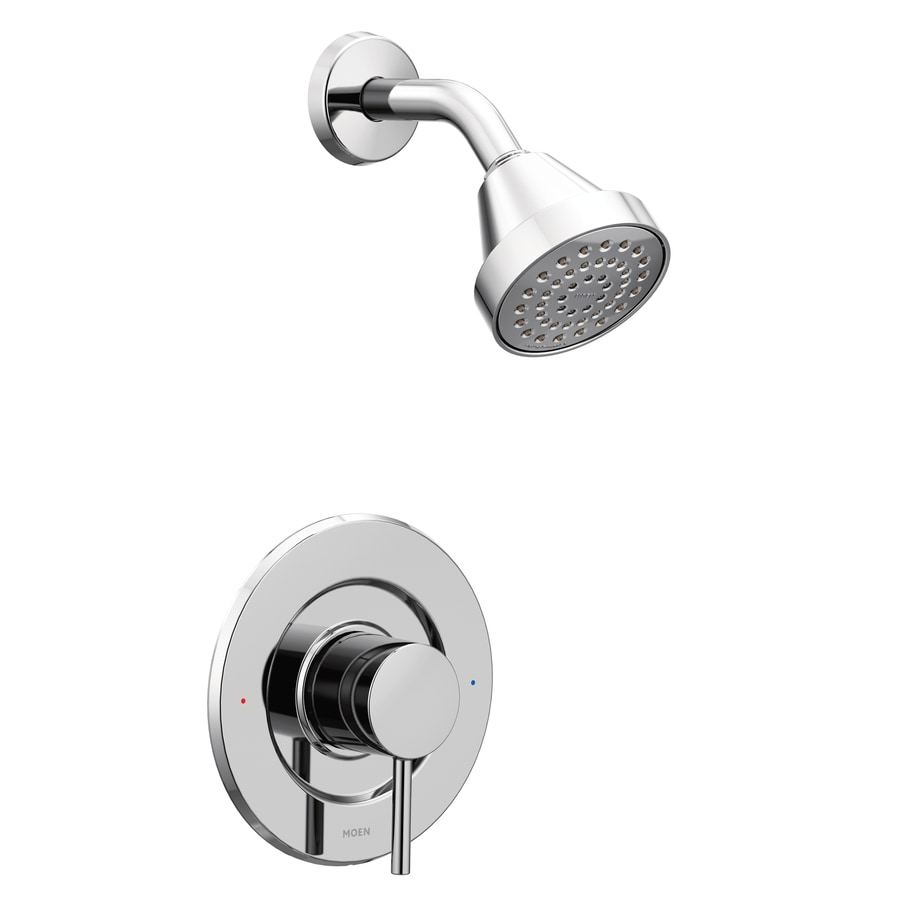 Moen Align Chrome 1-Handle Shower Faucet with Single Function Showerhead