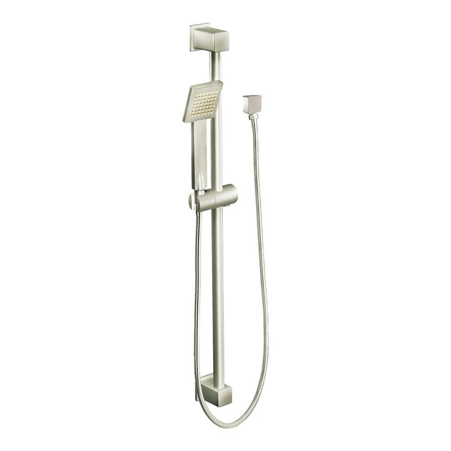 Moen 90 Degree Brushed Nickel 1-Spray Shower Head