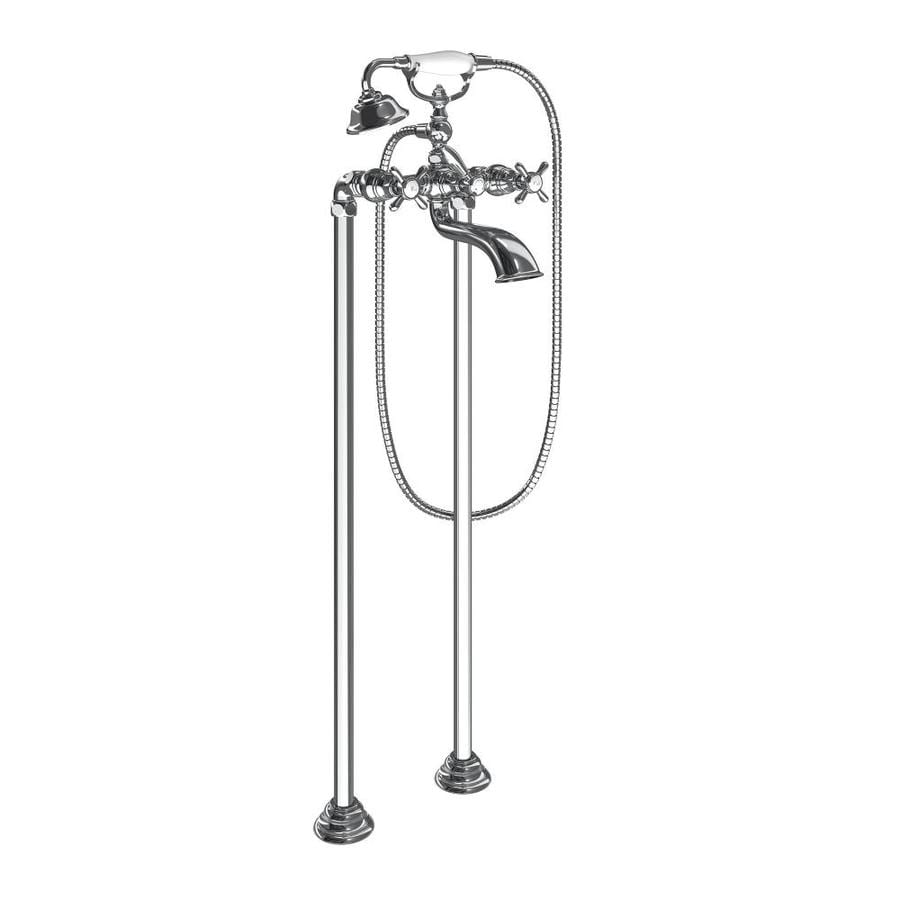 Moen Weymouth Chrome 2-Handle Handle(S) Included Fixed Freestanding Bathtub Faucet