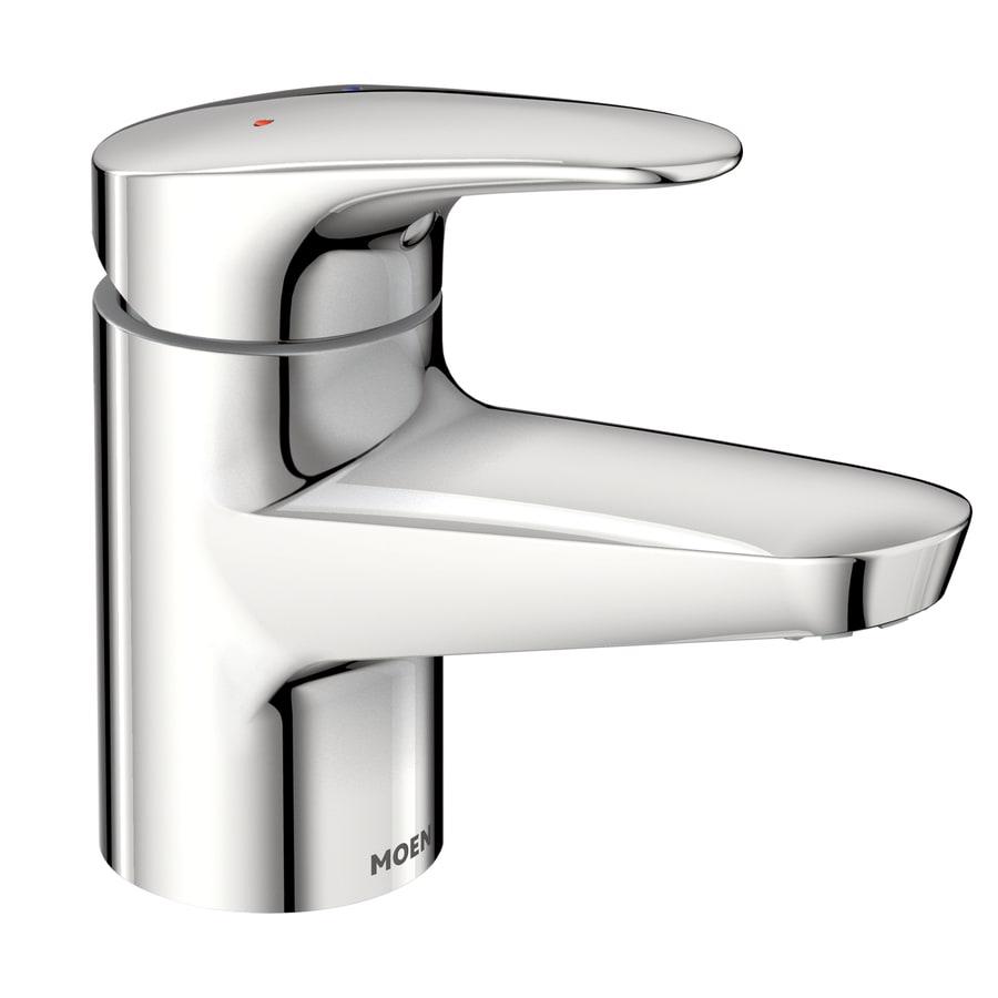 Moen m bition chrome 2 handle widespread watersense - Moen chrome bathroom sink faucets ...