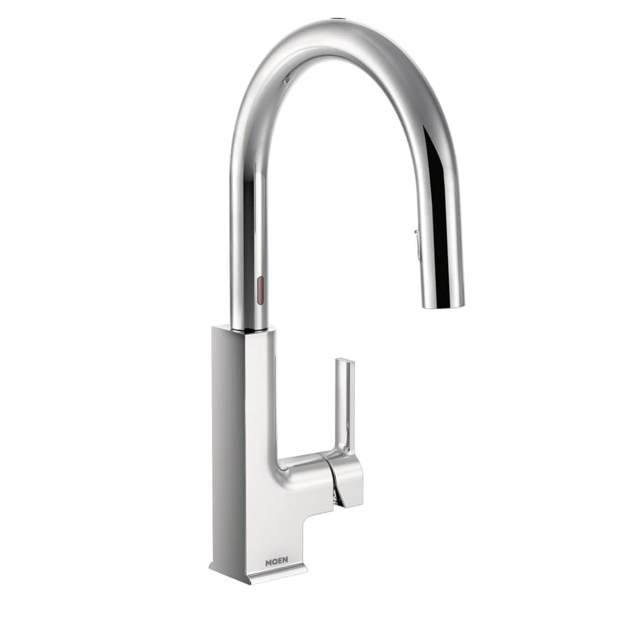 Moen Wynford Chrome 2-Handle 4-in Centerset WaterSense Bathroom Faucet (Drain Included)