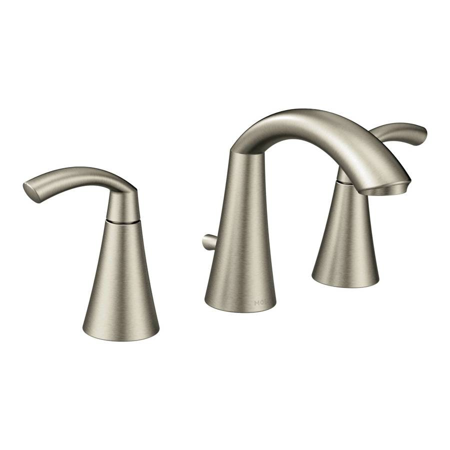 how to clean moen brushed nickel faucets