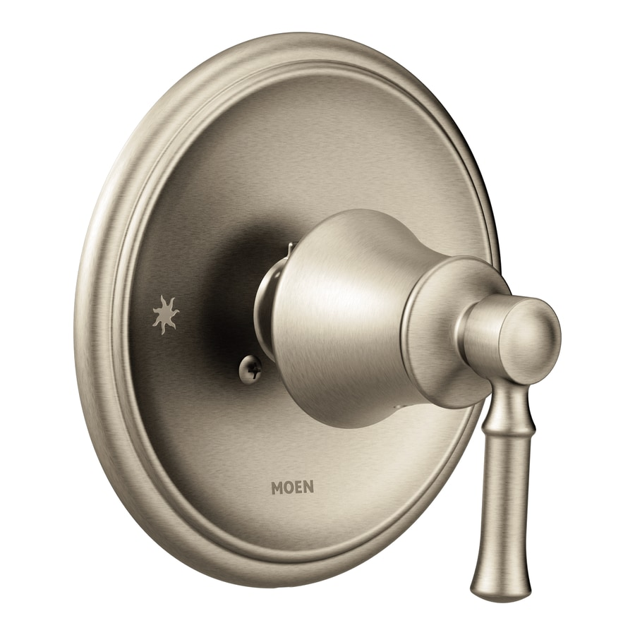 Moen Brushed Nickel Lever Shower Handle At Lowes Com