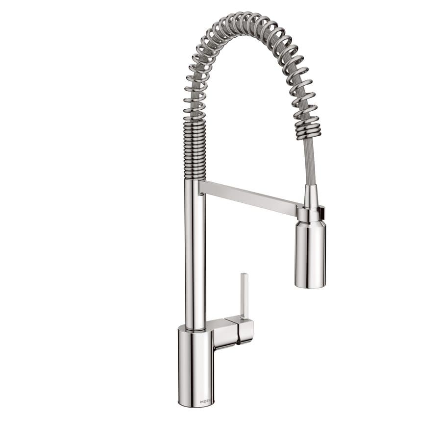 Moen Align Chrome 1-Handle Deck Mount Pre-rinse Kitchen Faucet