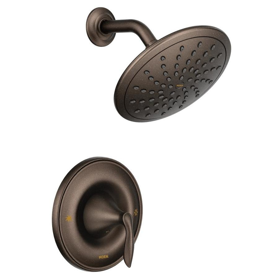 Shop Moen Eva Oil Rubbed Bronze 1 Handle Shower Faucet At Lowes Com