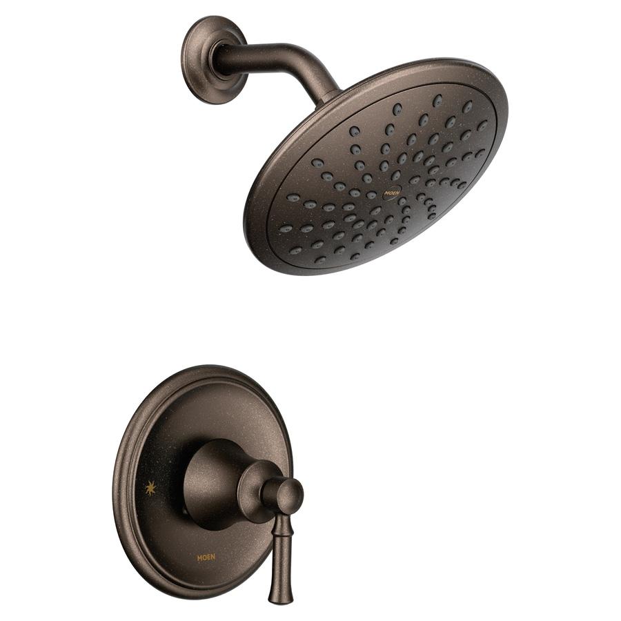 Moen Dartmoor Oil-Rubbed Bronze 1-handle Shower Faucet