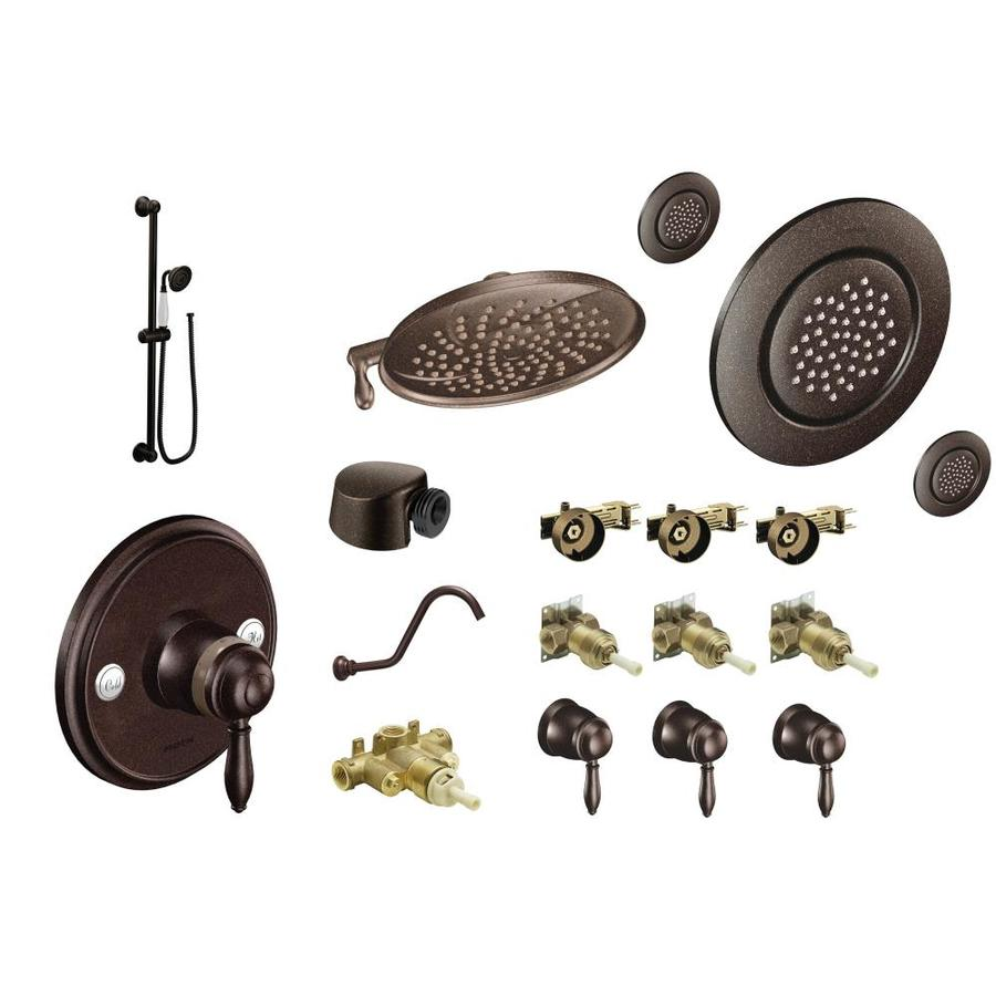 Shop Moen Weymouth Oil-Rubbed Bronze-Spray Shower System at Lowes.com