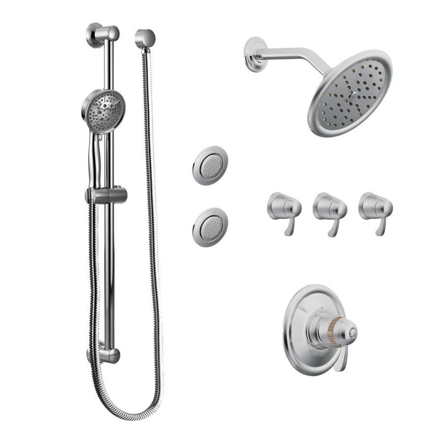 Moen Transitional Chrome-Spray Shower System