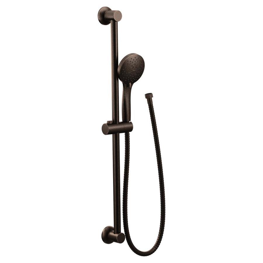 Moen Oil Rubbed Bronze Shower Bar System At Lowes Com