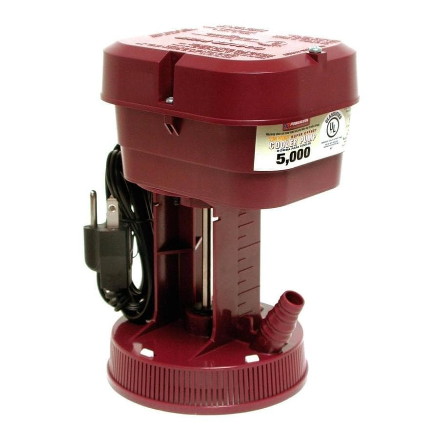 Dial Plastic/Copper/Zinc/Steel Evaportative Cooler Cool Pump