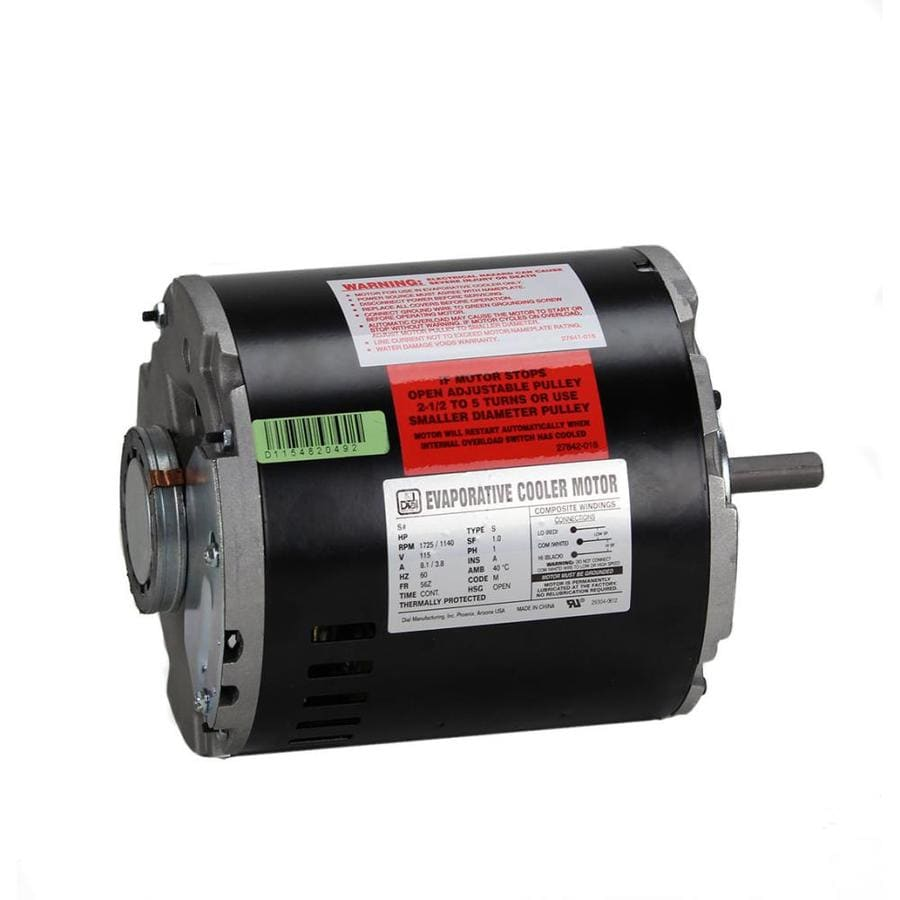 Dial Steel/Copper/Zinc Evaportative Cooler Cooler Motor