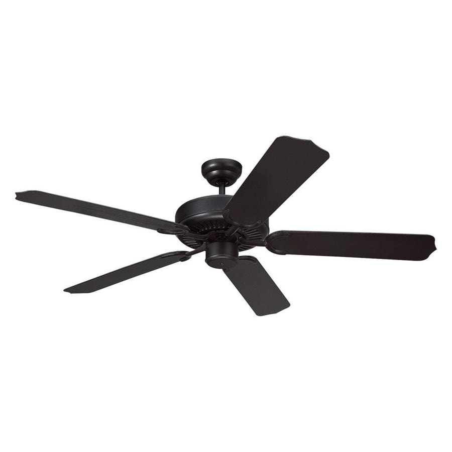 Shop Monte Carlo Fan Company Weatherford 52 In Black
