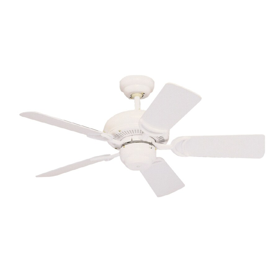 Monte Carlo Fan Company Designer Supreme III 34-in White Downrod Mount Ceiling Fan
