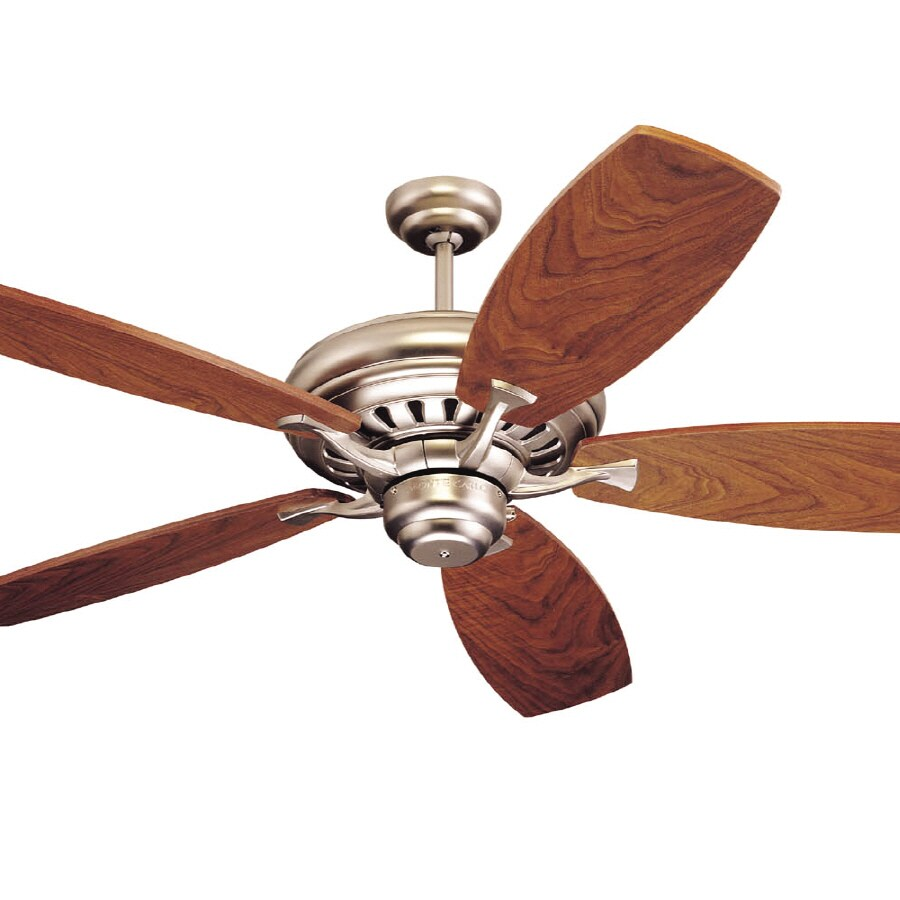 Monte Carlo Fan Company Maxima Brushed Pewter Ceiling Fan