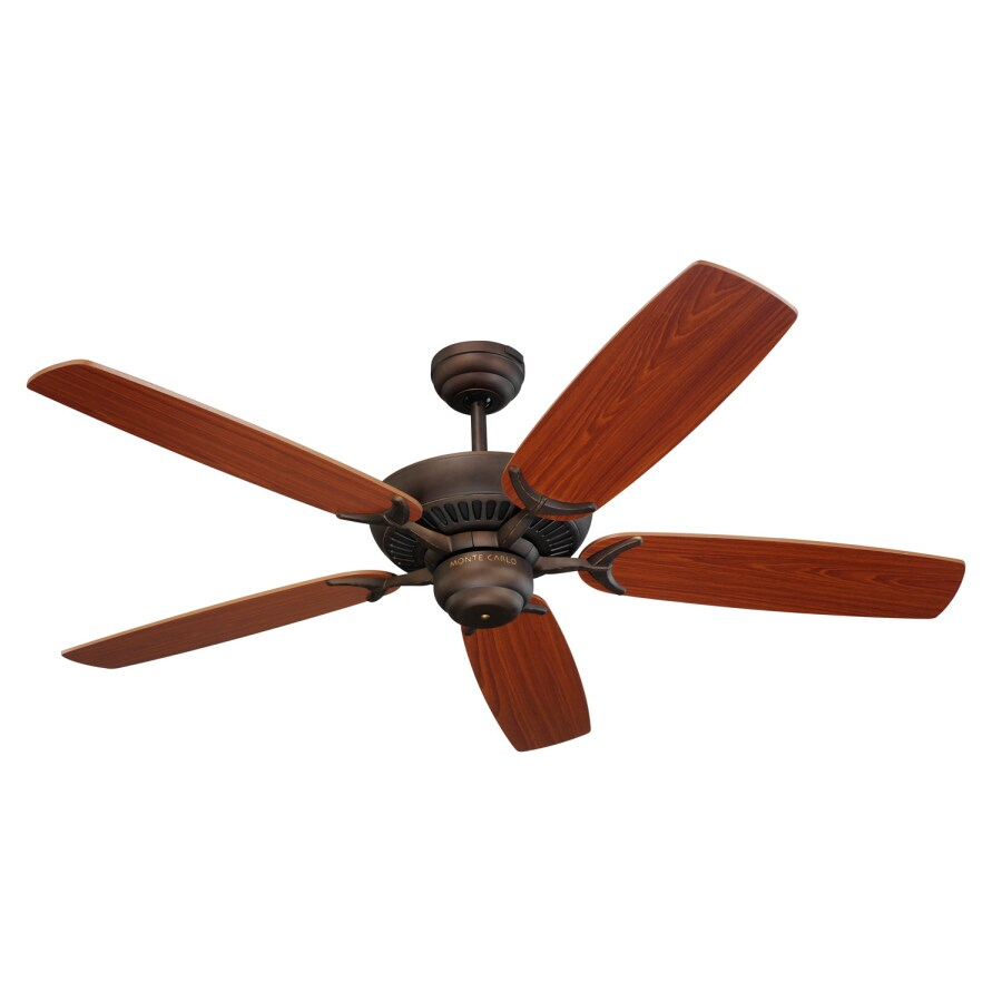 Monte Carlo Fan Company Colony 52-in Roman Bronze Multi-Position Ceiling Fan ENERGY STAR