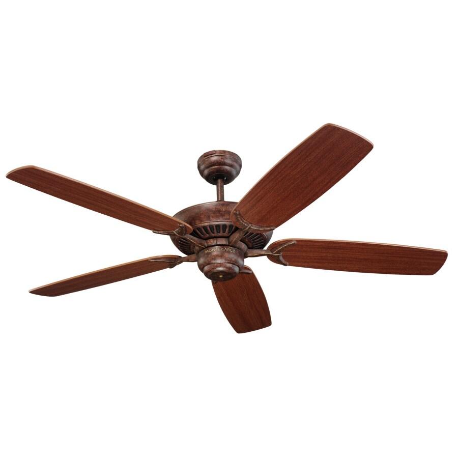 Monte Carlo Fan Company Colony 52-in Tuscan Bronze Multi-Position Ceiling Fan ENERGY STAR