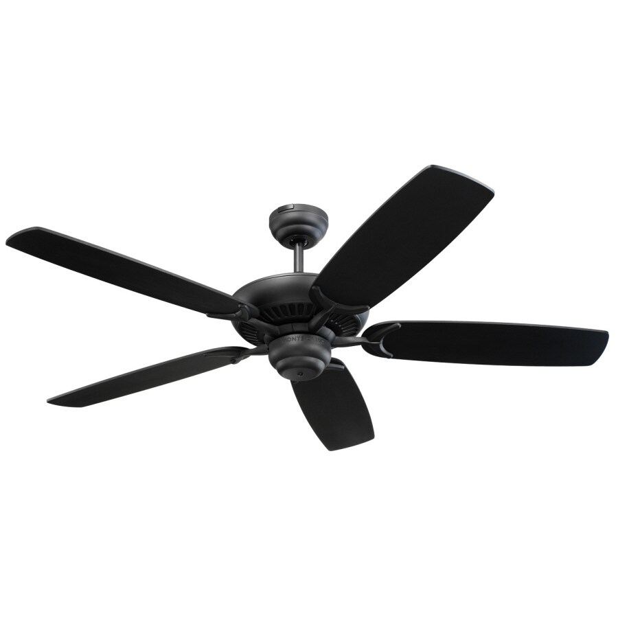 Monte Carlo Fan Company Colony 52-in Black Multi-Position Ceiling Fan ENERGY STAR