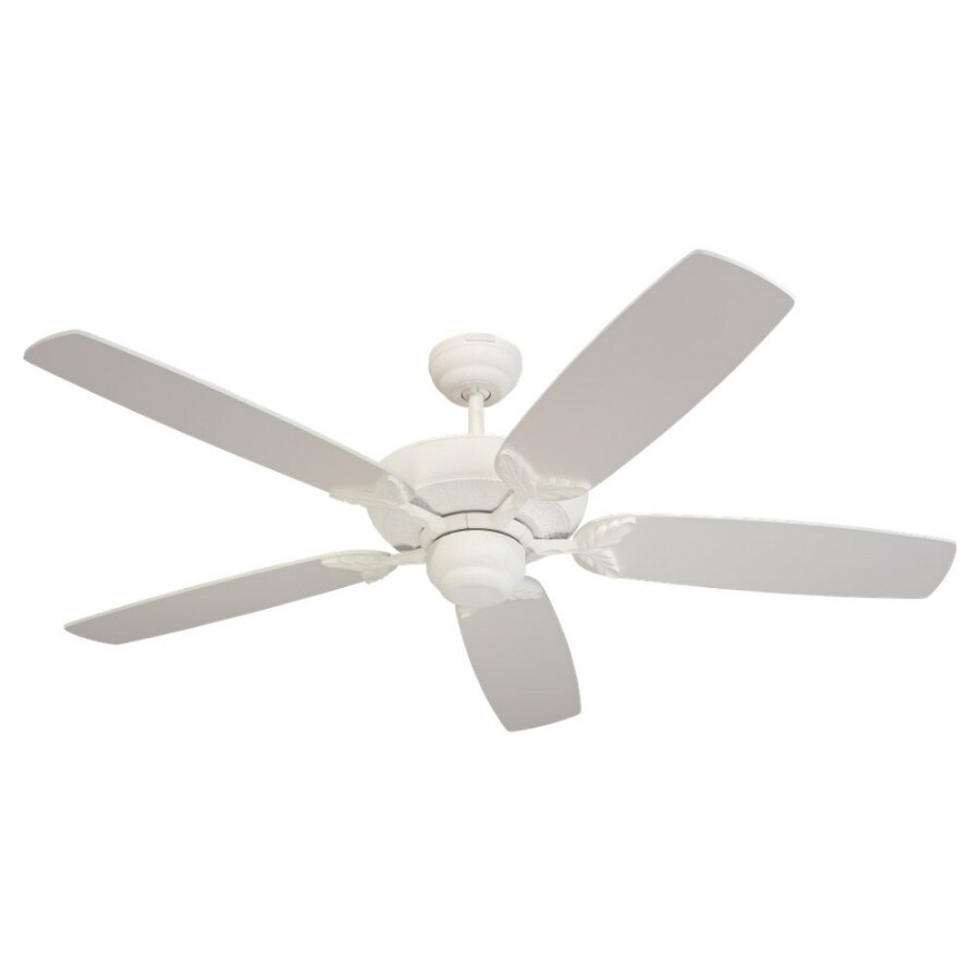 Monte Carlo Fan Company Mansion 52-in Textured White Multi-Position Ceiling Fan ENERGY STAR
