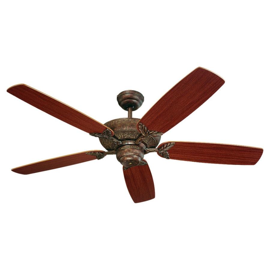 Monte Carlo Fan Company Mansion 52-in Tuscan Bronze Multi-Position Ceiling Fan ENERGY STAR