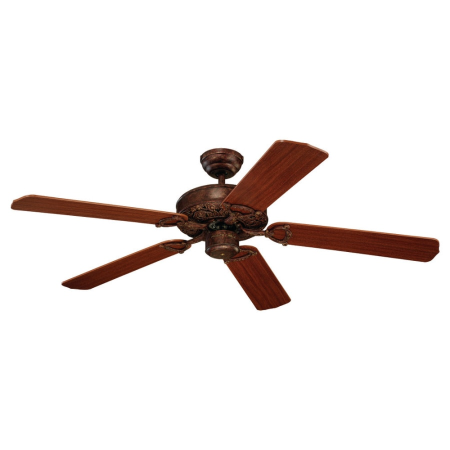 Monte Carlo Fan Company Ornate 52-in Tuscan Bronze Multi-Position Ceiling Fan