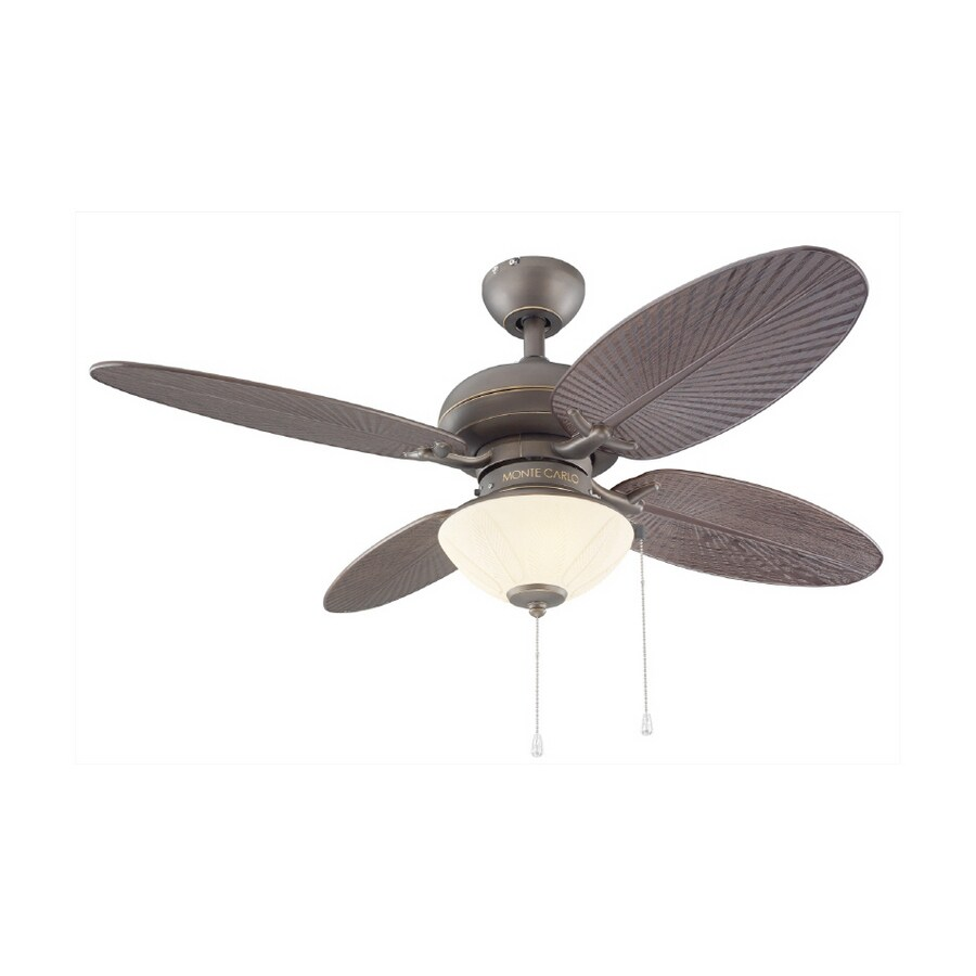 "Shop Monte Carlo Fan pany 42"" Decordova Roman Bronze Ceiling"