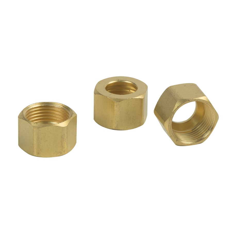 BrassCraft 3-Pack 3/8-in Compression Compression Coupling Adapter Fittings